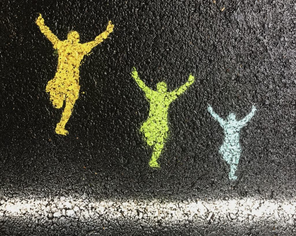 Painting on street