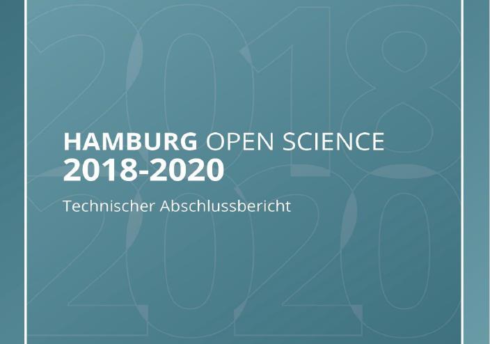 Titelblatt Hamburg Open Science Abschlussbericht